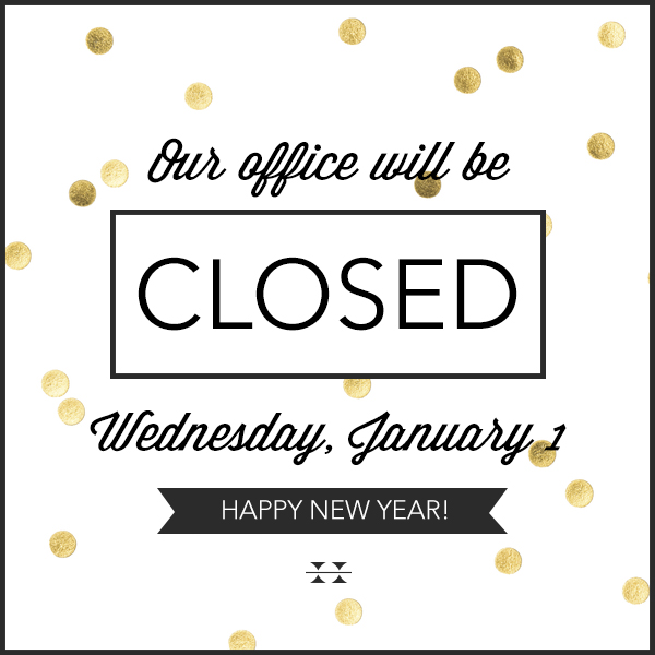 Office Closed (New Years)