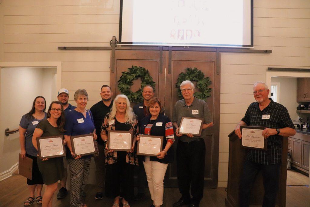 CMS Banquet Award Winners
